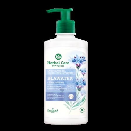 Herbal Care - ŻEL do higieny intymnej, Bławatek, 330 ml.