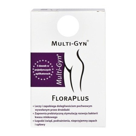 Multi-Gyn Flora Plus, 5x5ml.