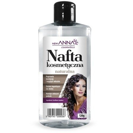 Nafta kosmetyczna Naturalna, 120g. (Anna)