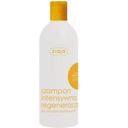 Ziaja - Intensywna pielęgnacja włosów - SZAMPON z miodem, 400 ml.