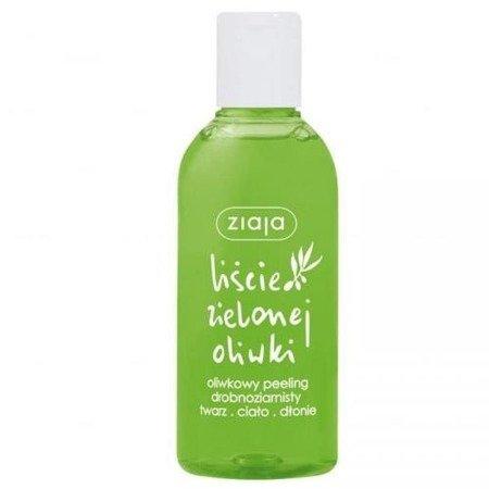 Ziaja - Liście Zielonej Oliwki - PEELING drobnoziarnisty do twarzy, ciała i dłoni, 200 ml.