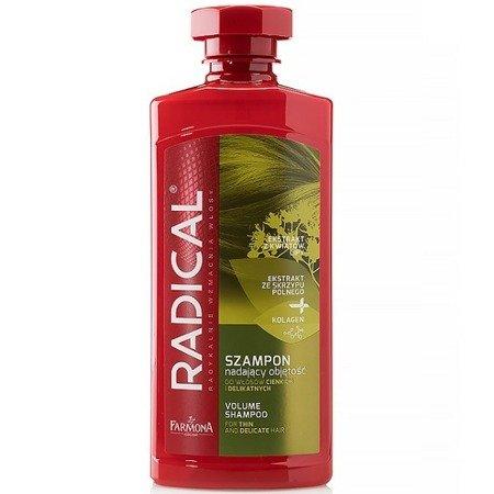 Radical - SZAMPON nadający objętości, polecany do włosów cienkich i delikatnych, 400 ml.