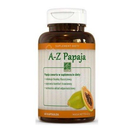 A-Z Papaja - 60 kapsułek.