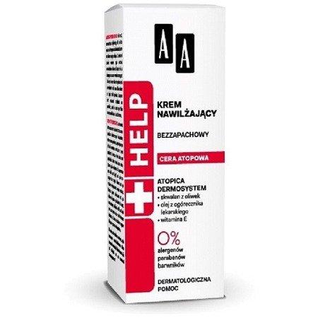 AA - HELP Cera atopowa - bezzapachowy KREM nawilżający 50 ml.