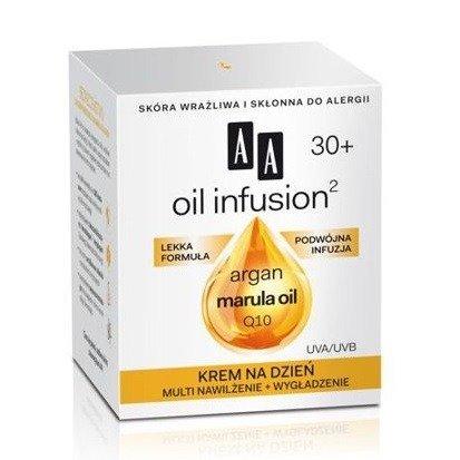 AA - Oil Infusion2 30+ - KREM nawilżający i wygładzający na DZIEŃ, 50 ml.