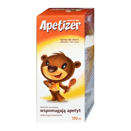 Apetizer - SYROP dla niejadków, 100 ml.