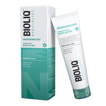 BIOLIQ Specialist - KREM detoksykujący na noc 30 ml.