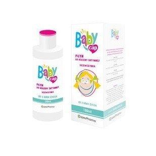 Babycap, PŁYN do higieny intymnej - dziewczynka, 150 ml.