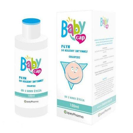 Babycap, płyn do higieny intymnej - chłopiec, 150 ml.