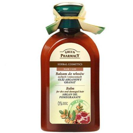 Balsam do włosów z Olejem Arganowym i Granatem, 300 ml. Green Pharmacy