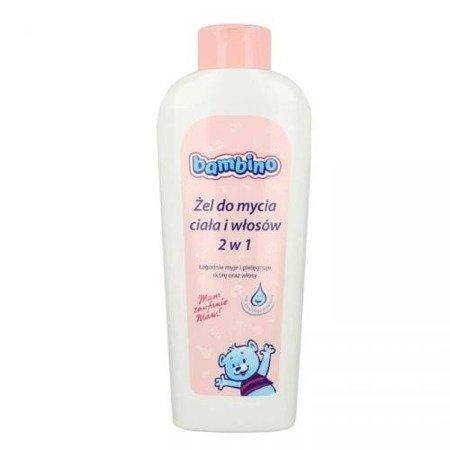 Bambino, ŻEL do mycia ciała i włosów, 400 ml.
