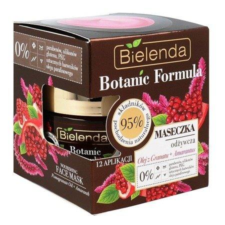Bielenda Botanic Formula, Olej z Granatu+Amarantus, MASECZKA odżywcza, 50 ml.