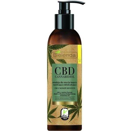Bielenda CBD Cannabidiol, EMULSJA do mycia twarzy, 175 g