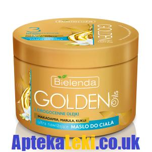 Bielenda - Golden Oils - MASŁO do ciała, ultra nawilżające, 200 ml.