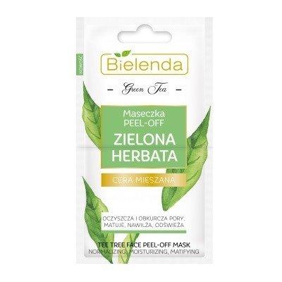 Bielenda Green Tea MASECZKA PEEL-OFF, 2x5 g.