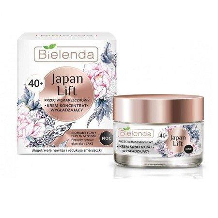 Bielenda Japan 40+ KREM/KONCENTRAT przeciwzmarszczkowy na NOC, 50 ml