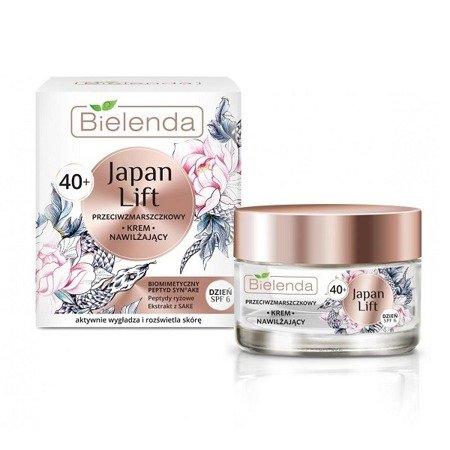 Bielenda Japan 40+ KREM przeciwzmarszczkowy na DZIEŃ, 50 ml