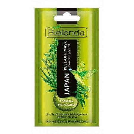 Bielenda Japan, MASECZKA detoksykująco-oczyszczająca PEEL-OFF 8 g Zielona