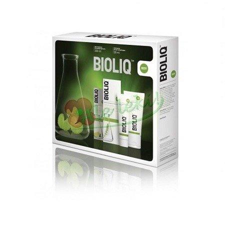 Bioliq Body Zestaw - balsam intensywnie odżywiający, 180 ml + regenerujący krem do rąk i paznokci, 50 ml