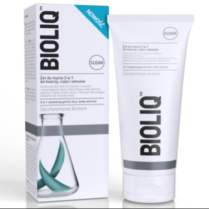 Bioliq CLEAN - żel do mycia 3 w 1, 180 ml.