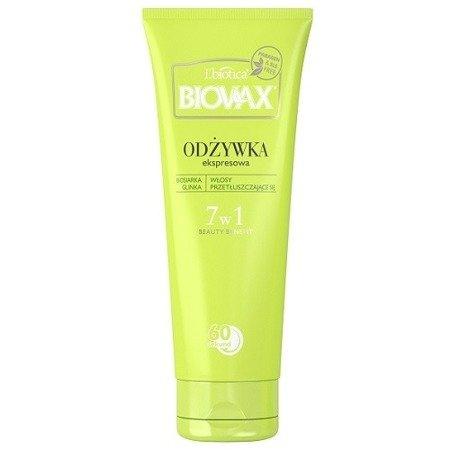 Biovax - BB Beauty Benefit, Odżywka Pielęgnacyjna do włosów przetłuszczających się, 200 ml.