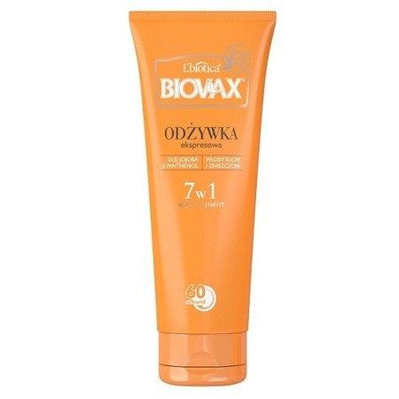 Biovax - BB Beauty Benefit, Odżywka Pielęgnacyjna do włosów suchych i zniszczonych, 200 ml.