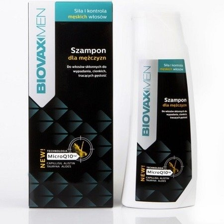 Biovax Men - SZAMPON dla mężczyzn, 200 ml.