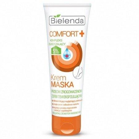 Comfort+ - Krem MASKA przeciw zrogowaceniom z efektem eksfoliującym, 100 ml.