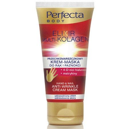 DAX Perfecta BODY - Elixir Multi-Kolagen - przeciwzmarszczkowy KREM-MASKA do rąk i paznokci, 80 ml.