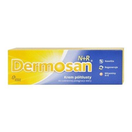 Dermosan N+R - KREM półtłusty z witaminami A+E 40 g.