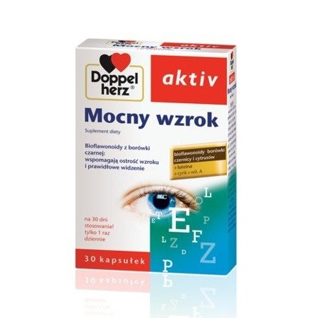 Doppelherz Aktiv - Mocny wzrok, 30 kapsułek.