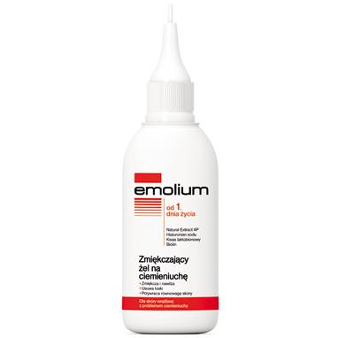 Emolium Dermocare - ŻEL zmiękczający na ciemieniuchę od pierwszych dni życia, 100 ml.