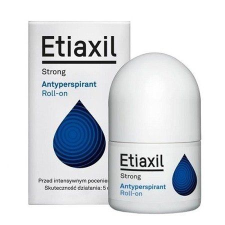 Etiaxil Strong, antyperspirant roll-on, 15 ml.