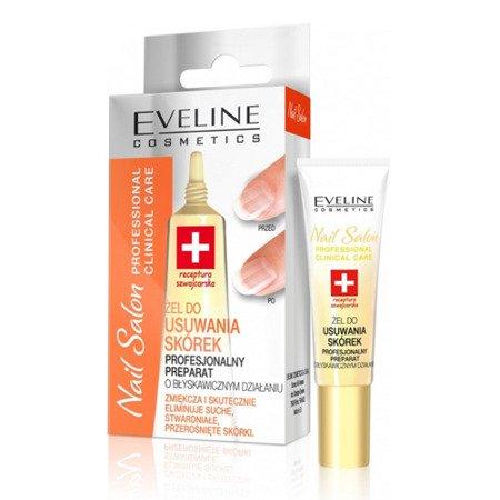 Eveline - Nail Salon Professional Clinical Care - ŻEL do usuwania skórek, 12 ml.