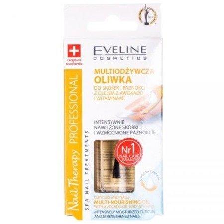 Eveline Nail Therapy Professional - MULTIODŻYWKA, Oliwka do skórek i paznokci, 12 ml.