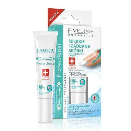 Eveline Nail Therapy Professional - Miękkie i Zadbane Skórki, Preparat do usuwania skórek, 12 ml.