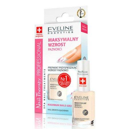 Eveline Nail Therapy Professional - ODŻYWKA przyspieszająca wzrost paznokci, 12 ml.