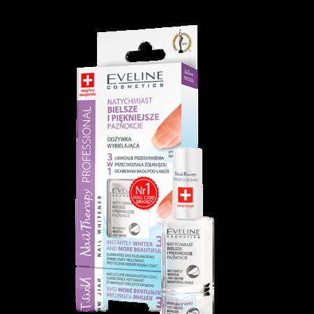 Eveline Nail Therapy Professional - ODŻYWKA wybielająca paznokcie, 12 ml.