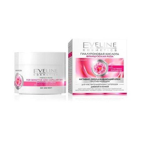 Eveline Róża Francuska KREM na Dzień i Noc, 50 ml