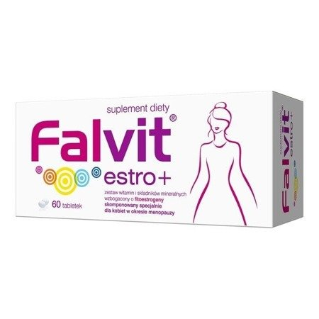 Falvit Estro Plus, 60 tabletek.