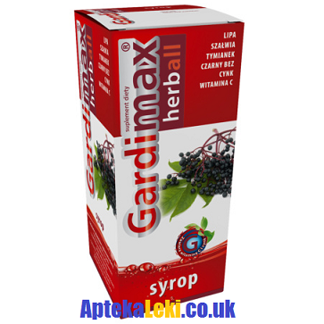 Gardimax Herball - SYROP, 110 ml.