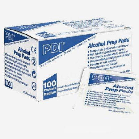 Gaziki do dezynfekcji - Nasączone alkoholem 70%, 10 sztuk.