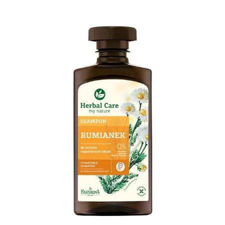 Herbal Care - Szampon Rumiankowy Do Włosów Blond i Rozjaśnianych, 330 ml.