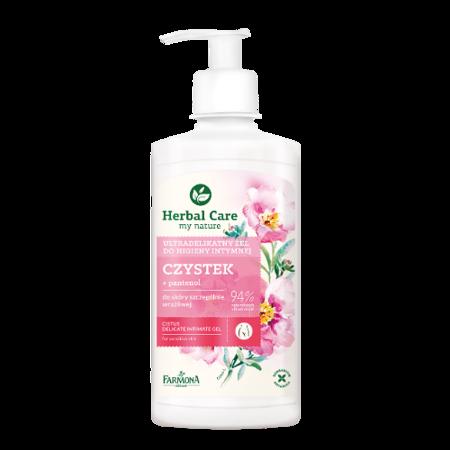 Herbal Care - ŻEL do higieny intymnej, Czystek, 330 ml.