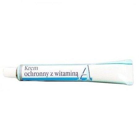 Krem ochronny z witaminą A, 20 g. Aflofarm