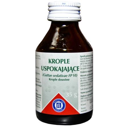 Krople uspokajające, 35 ml. HASCO