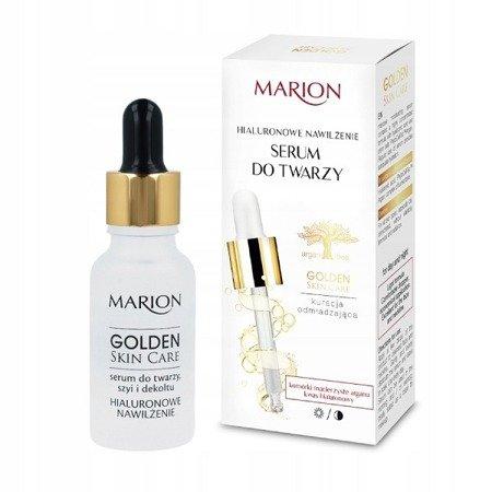 Marion Golden Skin Care, SERUM hialuronowe do twarzy, 20 ml.