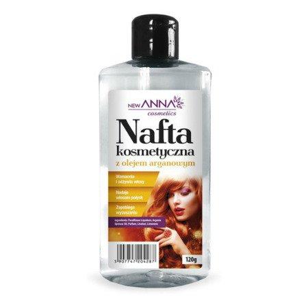 Nafta kosmetyczna z olejem arganowym, 120 g. (Anna)