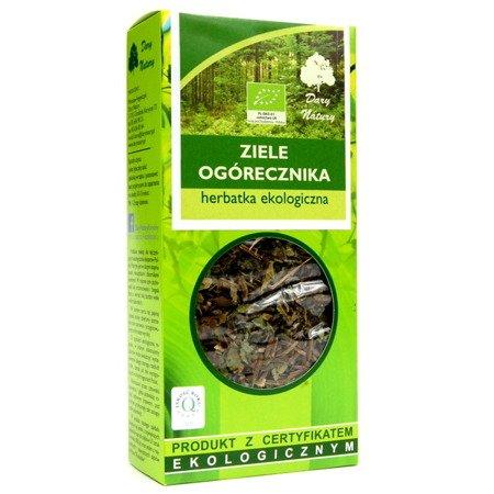 Ogórecznik - ziele ogórecznika EKO, 50 g.