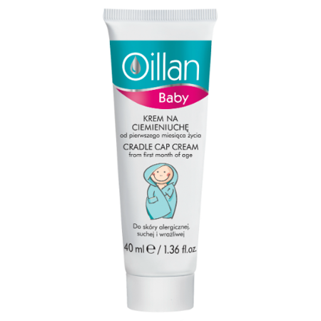 Oillan - Baby - KREM na ciemieniuchę, 40 ml.